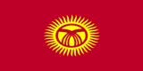 Kyrgyzstani Flag